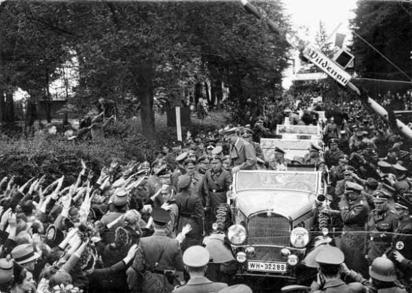 Adolf Hitler - von Wildenau nach Asch