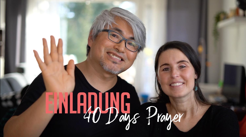 Einladung: 40-Days-Prayer